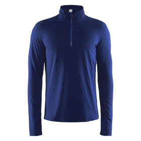 Craft Pin Midlayer Heren blauw